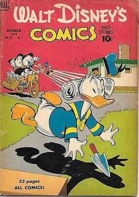 Walt Disney's Comics and Stories Comic Book #109, Dell Comics 1949 VERY GOOD-