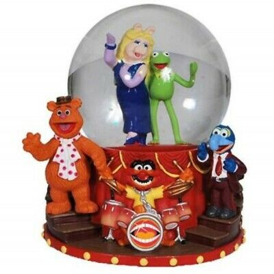 Presenting The Muppets Main Cast 100mm Water Globe, NEW UNUSED