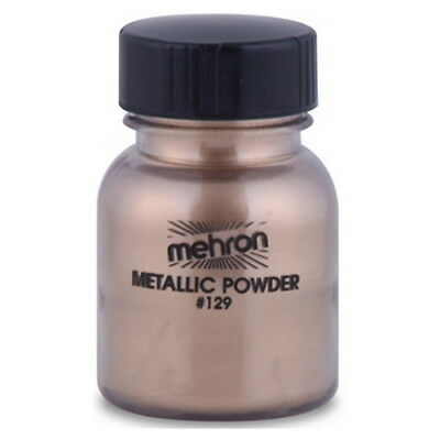 (6 PACK) mehron Metallic Powder - Gold (GLOBAL FREE SHIPPING)