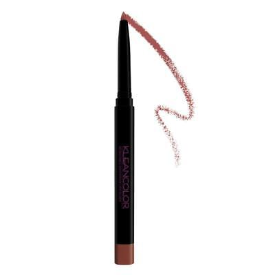 (6 PACK) KLEANCOLOR Retractable Waterproof Lip & Eye Liner - Mauve (FREE SHIP)