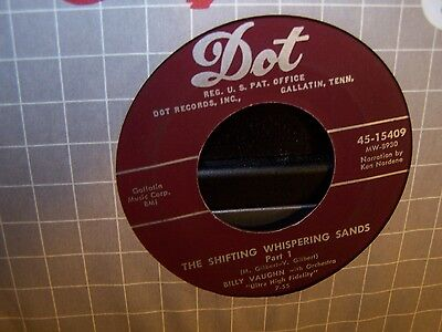 Billy Vaughn - The Shifting Whispering Sands Part 1 & 2  45  1955