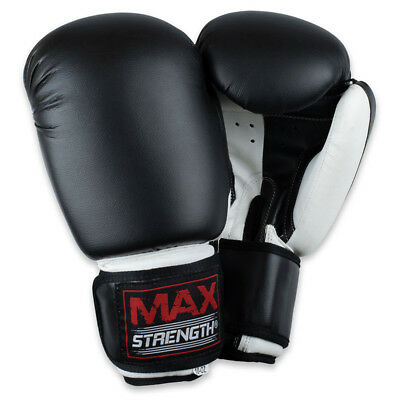 Boxing Gloves Muay Thai Grappling Fight Punch Bag Sparring Training Kick MMA Pad