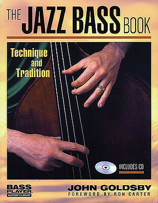John Goldsby The Jazz Bass Book, Book, CD- Double Bass, English - 9780879307165