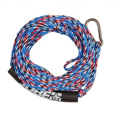 Jobe Tow Line 2 Rider Tow Rope 50Ft Red Fleck