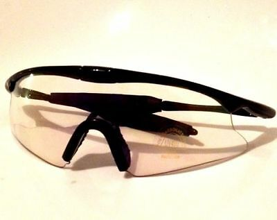 New Shooting Cycling Wraparound Clear Uv 400 Glasses - Uk Seller