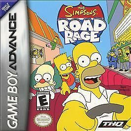 The Simpsons Road Rage MINT CART Game Boy Advance Gameboy GBA
