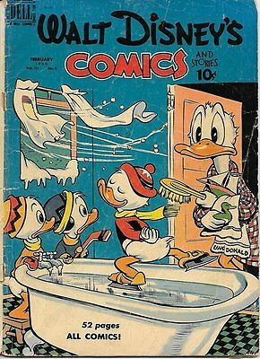 Walt Disney's Comics and Stories Comic Book #113, Dell Comics 1950 GOOD+