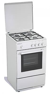 Gas cooker 50x50x85 cm 4 burners with gas oven - Regal R12W UK