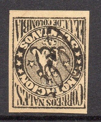Colombia 1870 Early Registration Stamp Type A Fine Used (99686)