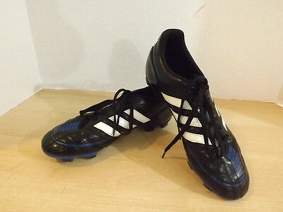Soccer Cleats Mens Size 8 Adidas Black Blue