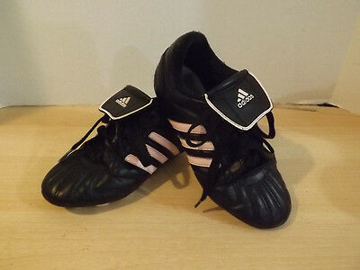 Soccer Shoes Cleats Childrens Size 1 Adidas Pink Black