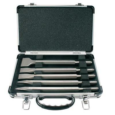 Makita D-16368 5 Piece Sds Plus Chisel Set In Carrying Case!
