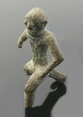 Very Rare Roman Brooch Of Seated Male Figure (J26) • CAD $603.64