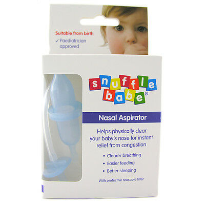 Snuffle Babe Nasal Aspirator Available With or Without Case One Suppiled NEW