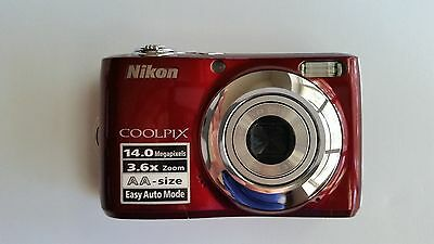 NIKON COOLPIX L24 Camera 14.0 3.0 LCD 3.6x Zoom Nikkor Easy Auto, 3.6x and Dig