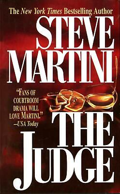 NEW The Judge by Steve Martini Mass Market Paperback Book (English) Free Shippin