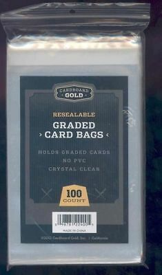 (100) Graded Card Team Bag Sleeves Fits BGS PSA SGC BCCG CARDS FREE SHIPPING USA
