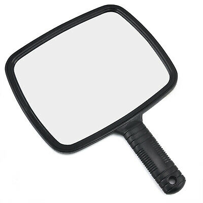 Professional Handheld Salon Barbers Hairdressers Mirror with Handle - By TRIXES