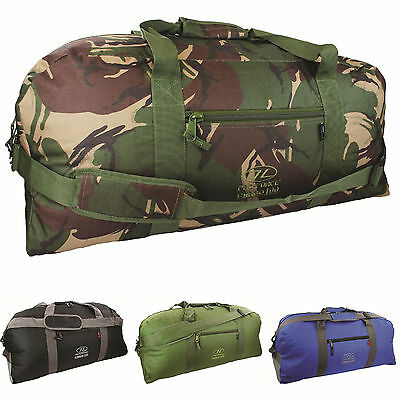 PRO-FORCE CARGO 100 L HOLDALL – OLIVE, DPM CAMO, BLACK or BLUE – large army bag
