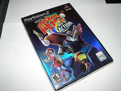 DISNEY'S CHICKEN LITTLE: ACE IN ACTION  (PLAYSTATION 2) PS2  **NEW**