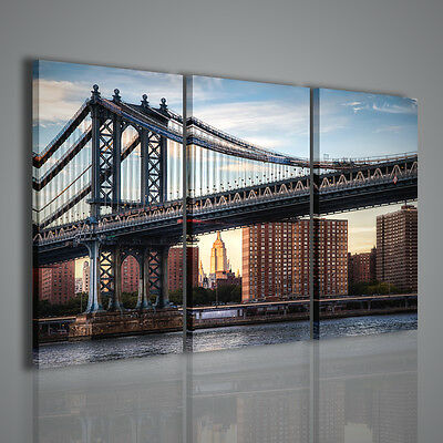 Quadri Moderni Magic Bridge Ii Quadro Moderno Stampa Su Tela Citta' Canvas Print