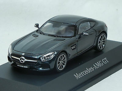 Modelcar Scale 1/43 1:43 Mercedes SLS class AMG GT S C190 Series magneti black