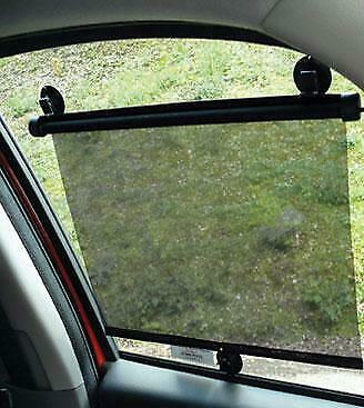 Car Roller Window Sun Blind Sunshade Caravan Motor Home Boat Pair Gift Idea