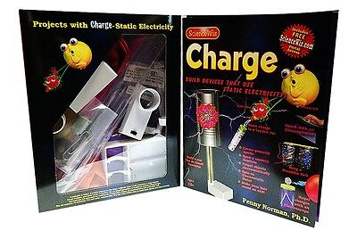 Sciencewiz Charge - Build Devices That Use Static Electricity Kids Science Kit