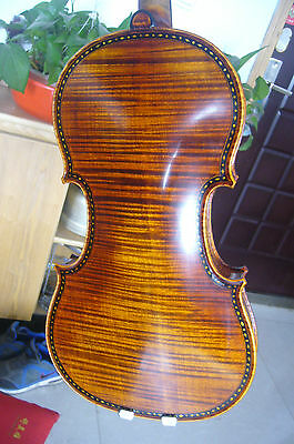Best 4/4  violin Hellier model 1679 , full hand made , shell inlay perfect