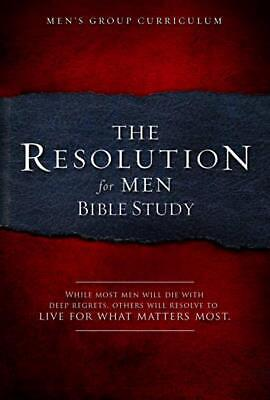 The Resolution for Men Bible Study by Stephen Kendrick (English) Paperback Book