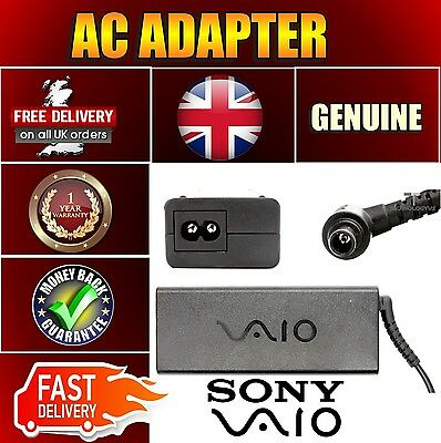 Genuine Original 19.5v 4.7a Adapter Charger PSU for Sony VGN-CR409ET VGN-CR410