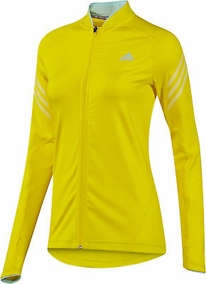 Adidas Supernova Ladies Running Jacket - Yellow