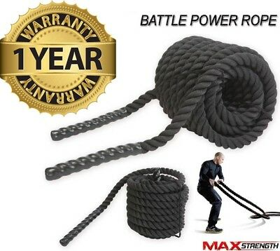 Maxstrength® Training Battling Battle Power Rope Sport Exercise Fitness Bootcamp