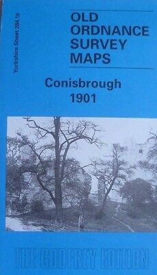 Old Ordnance Survey Detailed Map Conisbrough 1901 Yorkshire Sheet 284.10  new