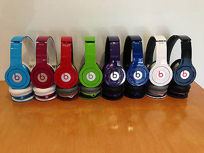 Beats by Dr. Dre Solo HD Headband Headphones - Carrying Case -  Authentic