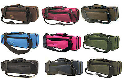 New Sky Classic C Flute Case with Shoulder Strap For Band 16 Hole Flute YKK