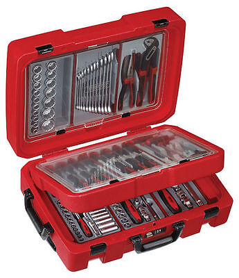 Teng Tools Toolkit Tool Set With Rolling Mobile Service Case SC01