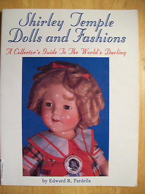 Shirley Temple Dolls PRICE GUIDE Book Composition Vinyl Paper doll & Collectible