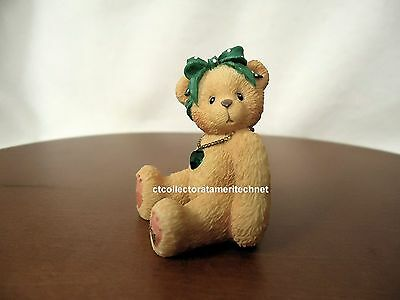 Cherished Teddies Little Sparkles May Bear 2003 Used No Box