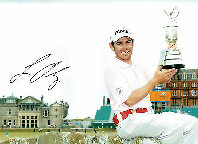 Louis OOSTHUIZEN Signed Autograph 16x12 Open GOLF St Andrews Photo AFTAL COA