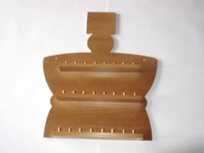 24pc Crown Wooden Thimble Display Rack ( Pine ) ( huge range - see description )