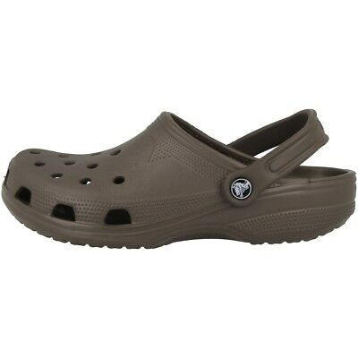 Crocs Beach Classic Clog Sandale Chocolate 10002-200 Clogs Bade Schuhe Unisex