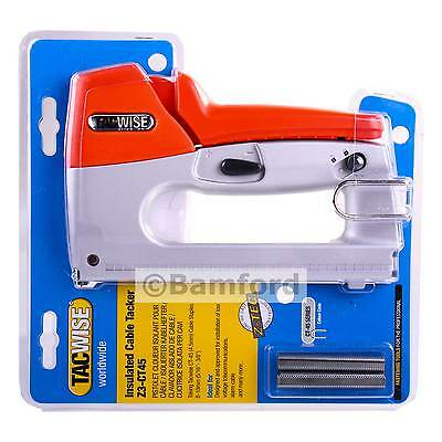 Tacwise Insulated Cable Tacker Stapler For Telephone/Alarm Wire 0809 Z3-CT-45