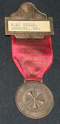 1950 International Asso FIRE CHIEF Convention San Francisco Ca Collectors L@@K