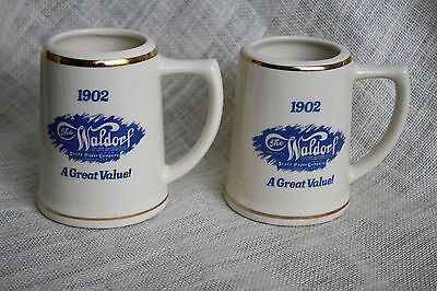 Vtg The Waldorf Scott Toilet Paper Co. Value Pack 6 Rolls Logo Promo Coffee Cup