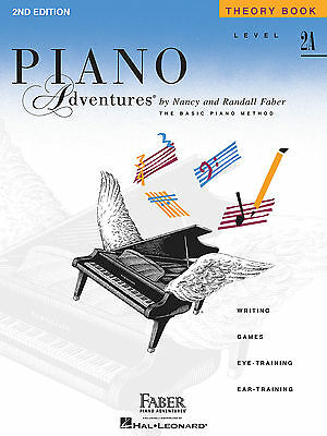 FABER PIANO ADVENTURES LEVEL 2A - THEORY BOOK - 2ND EDITION