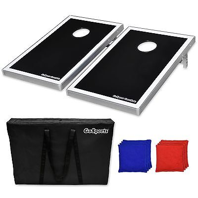 Cornhole | Bean Bag Toss Set - Includes 2 Boards, 8 Bags, and Carry Case!