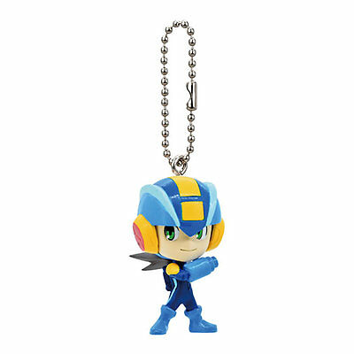 Gashapon Mega man Key Cheung Mini Figure : Mega man (Mega Man Battle Network)
