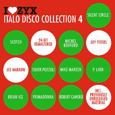 CD ZYX Italo Disco Collection 4 von Various Artists 3CDs