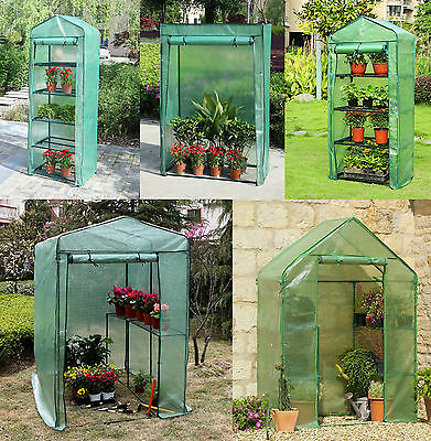 Outdoor Garden Greenhouse Plants Tier Planters Cold Frame Green House
